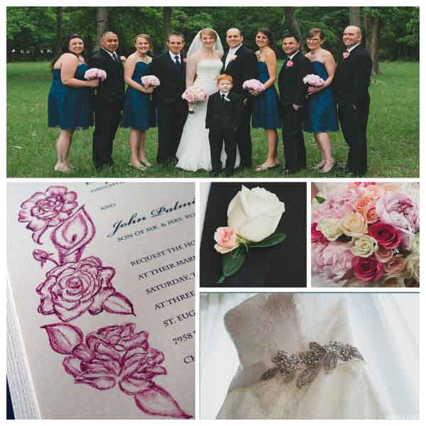 Chicago-Navy-&-Pink-Wedding