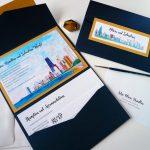 Chicago Themed Wedding Invitation