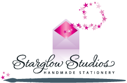 Starglow Studios, hand painted invitations